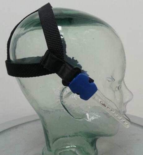 Orthodontic Headgear Halloween Costume kit black high pull headgear Adult unisex