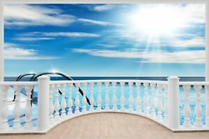 Huge-3D-Balcony-Swimming-Pool-Wall-Stickers-Film-Mural-Art-Decal-255