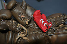 Miniature Red Boxing Glove Key Ring sporting gift boxers key ring