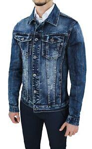 Giubbotto-di-jeans-uomo-estivo-casual-blu-denim-giacca-giubbino-slim-fit