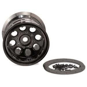 Black 2-Piece Axial AX8008 8-Spoke Oversize Wheel