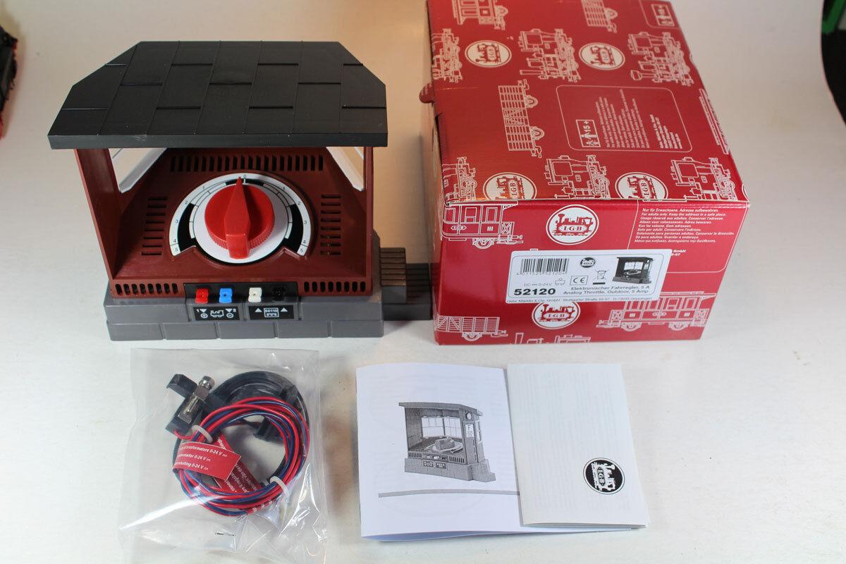 LGB 52120 elettronico Regolatore di marcia 5a nuovi.