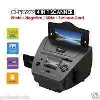 Photo Scanner Slide Negative Film Business Card 4 In 1 Convert To Digital
