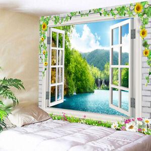 3D Waterproof Tapestry Decorative Mural Indoor//Outdoor Wall Decor 180x180cm