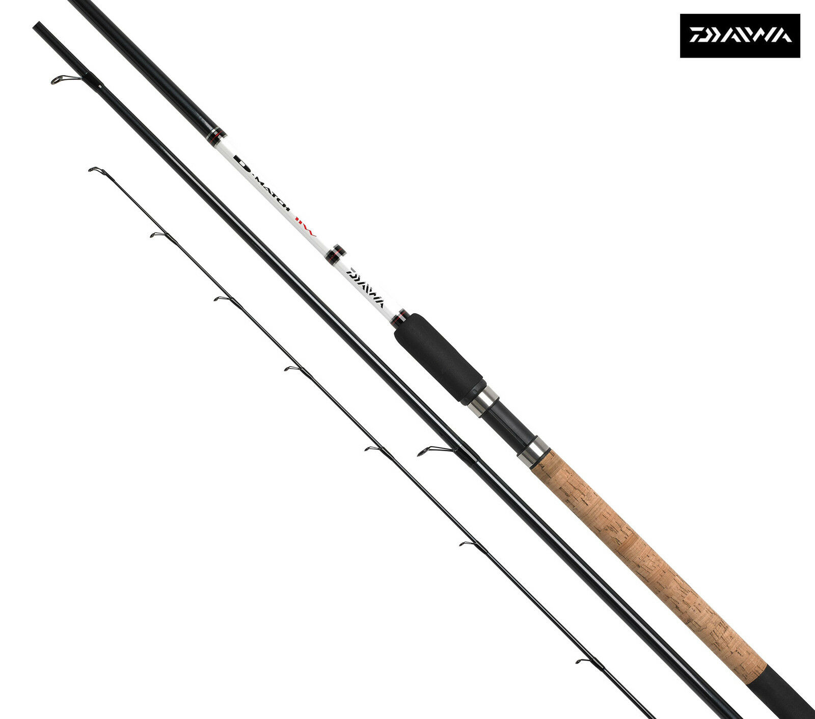 Specialerbjudande Daiwa D Match 11ft Waggler Fishing Rod - DM11W-AU