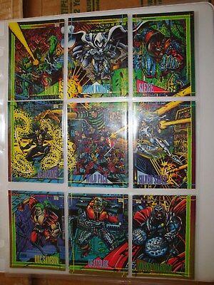 Darkhawk vs Evilhawk # 166-1993 Marvel Universe Series 4 Base Trading Card