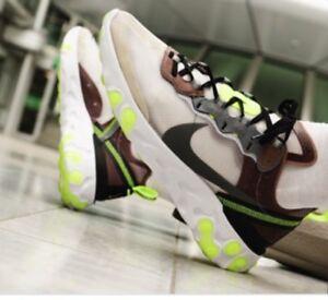 bello design nuove immagini di maggiore sconto di vendita Nike React Element 87 Grey Desert Sand The Prequel NEW - Size 10 ...