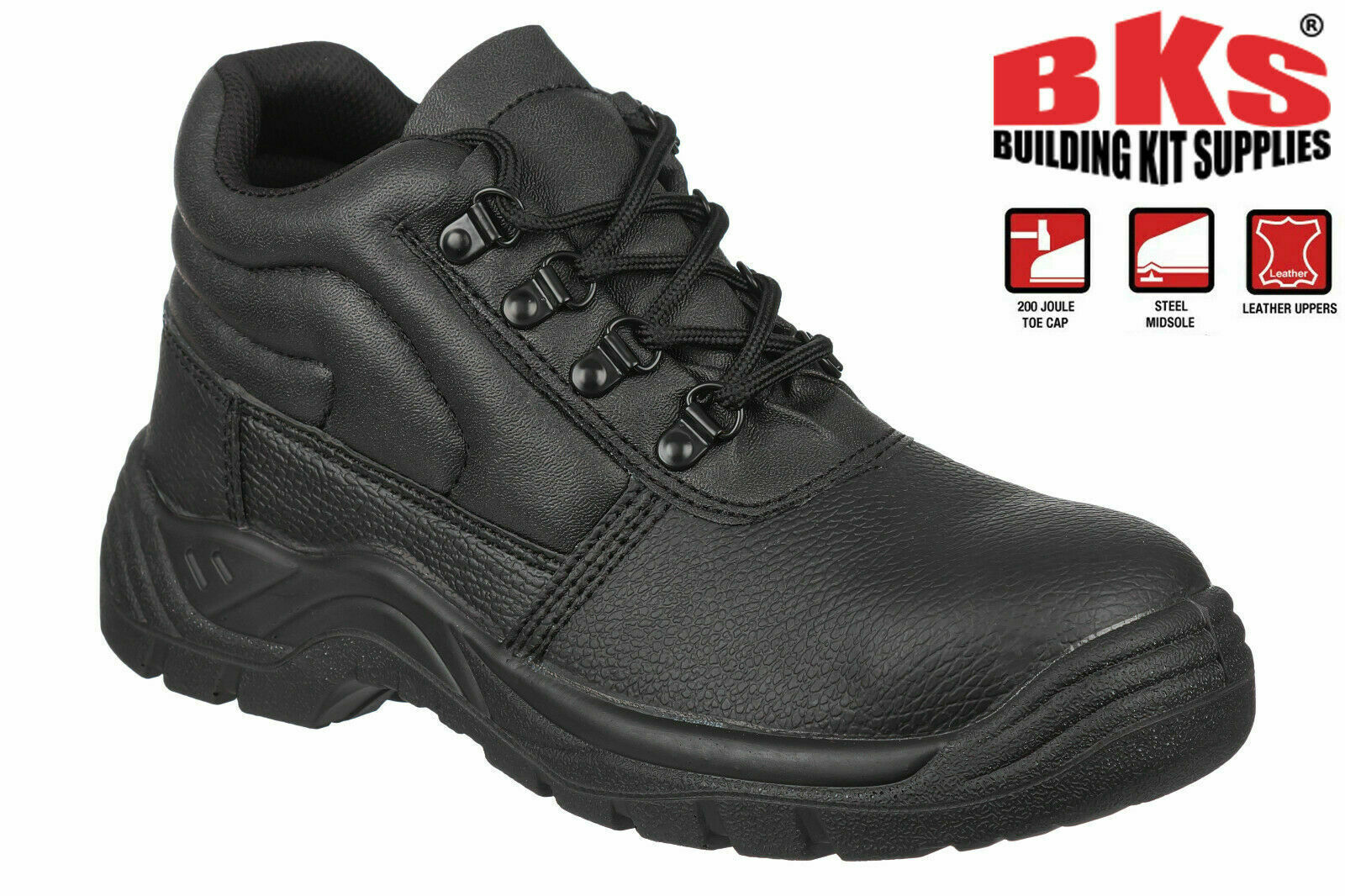Mens Safety Work Boots with Steel Toe