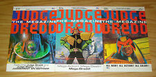 Judge Dredd: the Megazine #1-3 VF/NM complete series - fleetway comics set 2