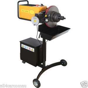 brake disk lathe machine