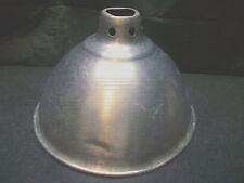 """LG 10"""" DIAMETER ALUMINUM DOME REFLECTOR LIGHT LAMP SHADE BROOD INCUBATOR REPTILE"""
