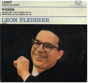 Liszt: Sonata In SI MInore; Weber: Sonata N.4, Invito All.. / Leon Fleisher - LP - Italia - Liszt: Sonata In SI MInore; Weber: Sonata N.4, Invito All.. / Leon Fleisher - LP - Italia