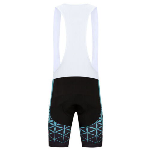 Men Cycling Bib Shorts Team Men/'s Bibs Pants with Padded Brace Tights Size S~3XL