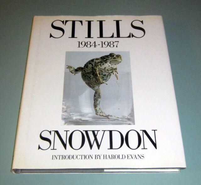 SIGNED by LORD SNOWDON PHOTOGRAPHER STILLS 1984-1987 PHOTOGRAPHS Diana Nureyev