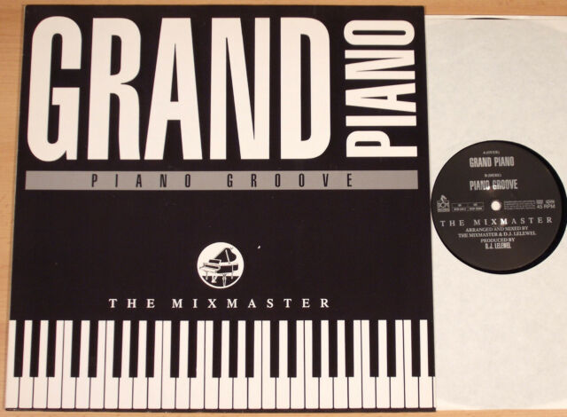 "THE MIXMASTER - Grand Piano / Piano Groove (D.J. LELEWEL / 12""-MAXI / NEAR MINT)"