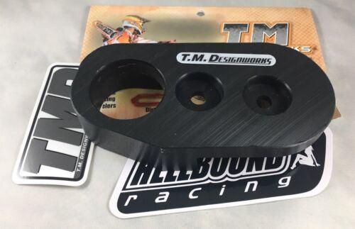 Honda TRX300ex 300ex BLACK Front chain guide slider TM Designworks