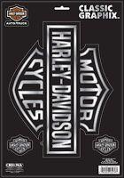 Harley Davidson Logo Car Window Decal Sticker Car Truck Rv Trailer Decals