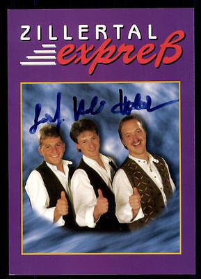 Original, Nicht Zertifiziert Musik Zllertal Expreß Autogrammkarte Original Signiert ## Bc 48461 Keine Kostenlosen Kosten Zu Irgendeinem Preis