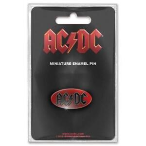 OFFICIAL-LICENSED-AC-DC-OVAL-LOGO-PIN-BADGE-ROCK-ANGUS