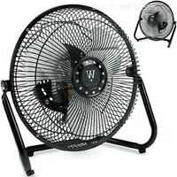 Personal Fan Small Compact Electric Table Desk Home Office Cool Air