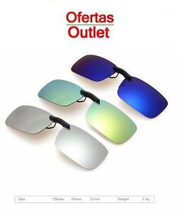 3ba86cea3d La imagen se está cargando Gafas-de-sol-Clip-on-Flip-Polarizadas-para-