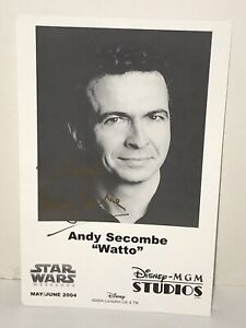 STAR-WARS-Watto-Andy-Secombe-Disney-MGM-Signed-Photo-Lucas-Film-2004