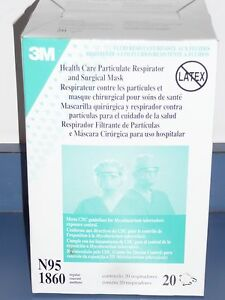 Case Particulate And Of Regular Respirator N95-1860 Expired 3m
