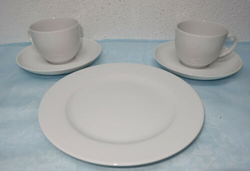 Seltmann Weiden Rondo Weiß Kaffeetasse; Kuchenteller zur Auswahl