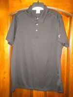 Puma Sport Lifestyle Polo Black Bud Light Platinum Ss Shirt Men's Size L