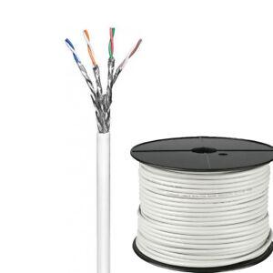100m-CAT6-Verlegekabel-S-FTP-LAN-Gigabit-Netzwerkkabel-2X-geschirmt-AWG-23-1-LSA