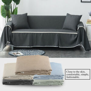 Details About Sofa Cover Couch Quilted Slipcover Throw Pet Dog Protector Dust Resistant