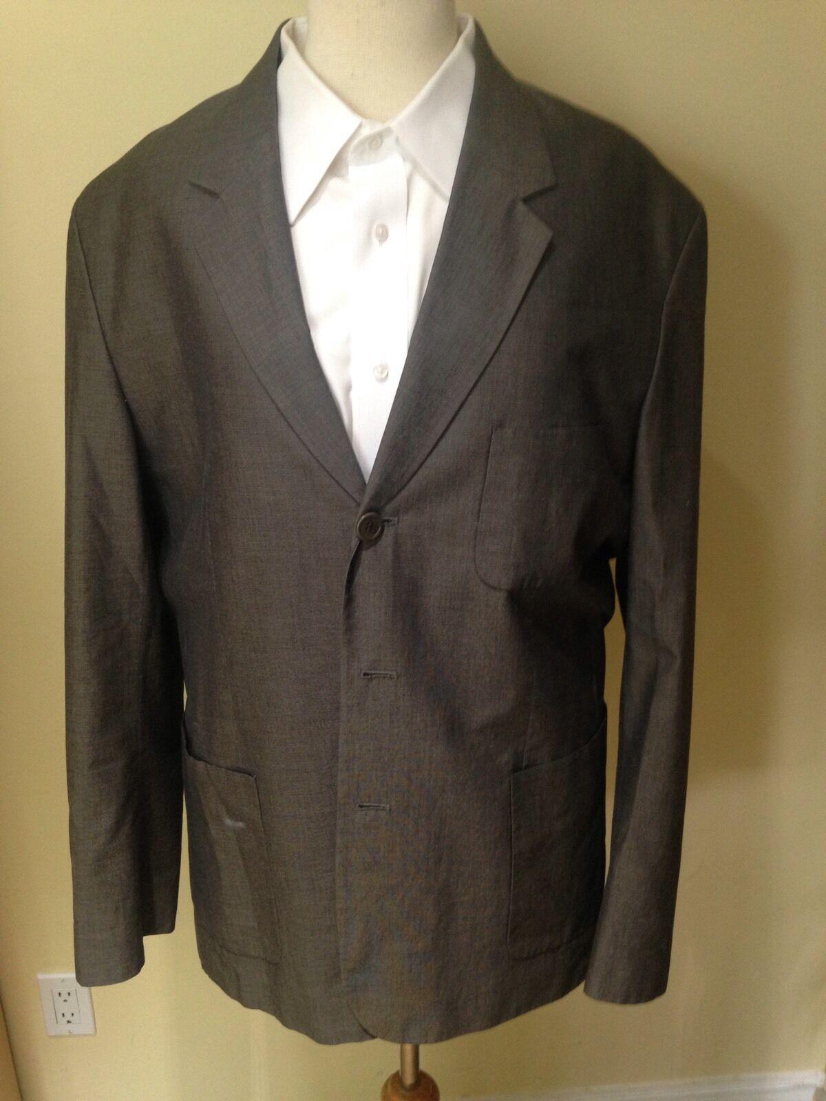 BCBG Max Azria 100% Cotton  Herren Suit Größe 36
