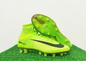 Details about NIKE MERCURIAL SUPERFLY V AG PRO SOCCER CLEATS SIZE 6 ELECTRIC GREEN 831955 306