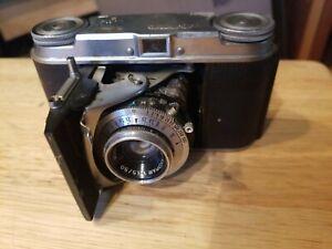 Voigtlaender-Vito-II-Klapp-Kamera-35-mm-Rangefinder-1954-Era