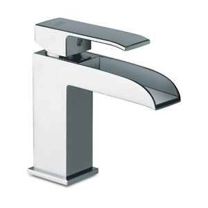 Miscelatore Paffoni lavabo per bagno a cascata senza scarico Level ...
