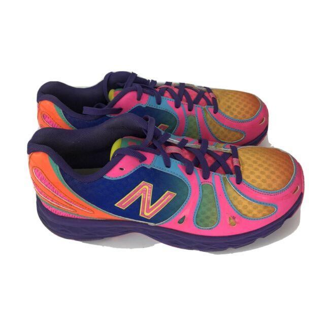 New Balance  Womens Size 6.5 890v3 Multi Color Neon Running Shoe Sneakers