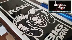 RAM-1500-BIG-HORN-2500-BIG-HORN-Crew-Cab-Mega-Cab-Edition-Hood-Decal-Stripes-NEW