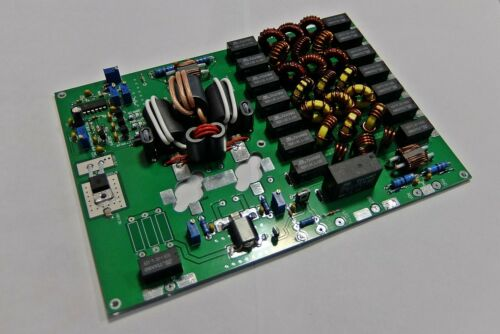 HF//50 MHz power amplifier 300W output 1.8-54 MHz with LPF and protection VRF2933