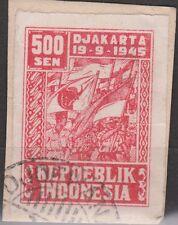 Indonesie Java Madoera 39a CANCEL DJOEWANA Japanse bezetting Japanese occupation