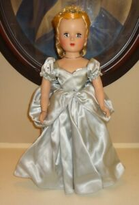 1950-Madame-Alexander-Margaret-Face-18-034-CINDERELLA-8800-Doll-w-Box-READ