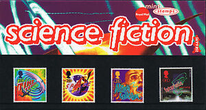 1995 Science Fiction  Novels by HG Wells Mint Stamps  Presentation Pack 258 - <span itemprop='availableAtOrFrom'>Belper, United Kingdom</span> - 1995 Science Fiction  Novels by HG Wells Mint Stamps  Presentation Pack 258 - Belper, United Kingdom