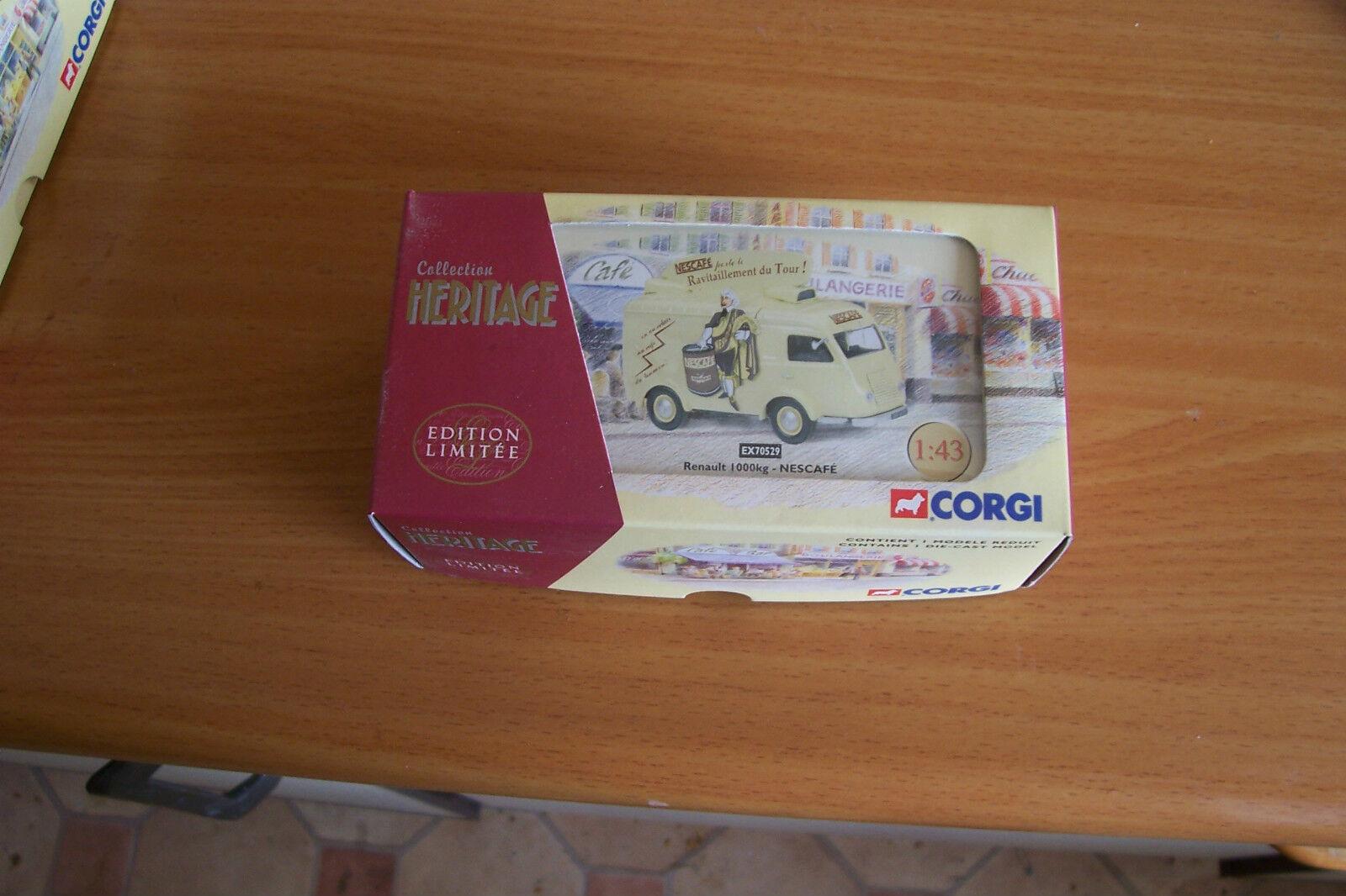 CORGI 1 43 EX70529 Ricqles Renault vintage van van van d343f2