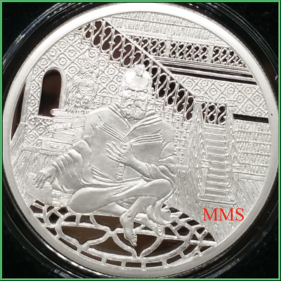 2019 1oz Silver Shield Flight Into Egypt Copper MiniMintage