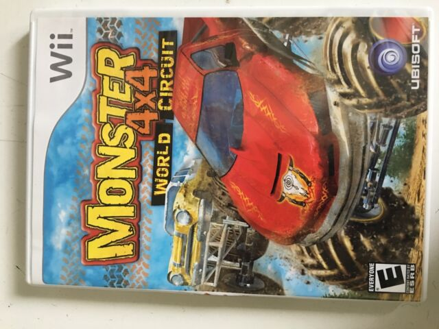 WII MONSTER 4x4 WORLD CIRCUIT GAME