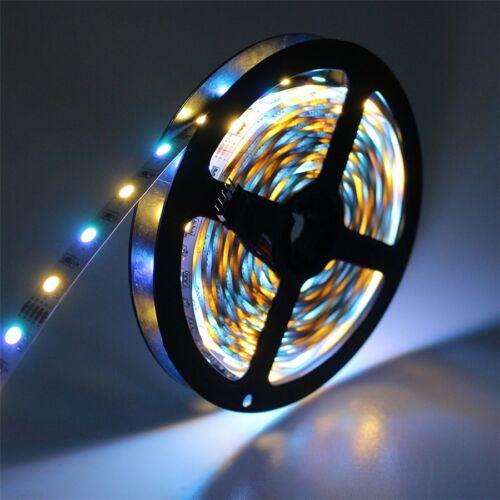 5m WIFI 5050 SMD RGB RGBW 300 LED Streifen wasserfest flexibel Band Licht Set