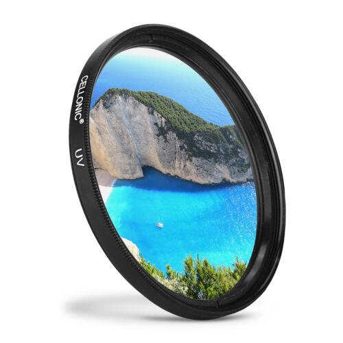 Filtro de protección 52mm para Nikon AF-S DX VR de zoom Nikkor 55–200 mm f//4–5,6 g if-ed