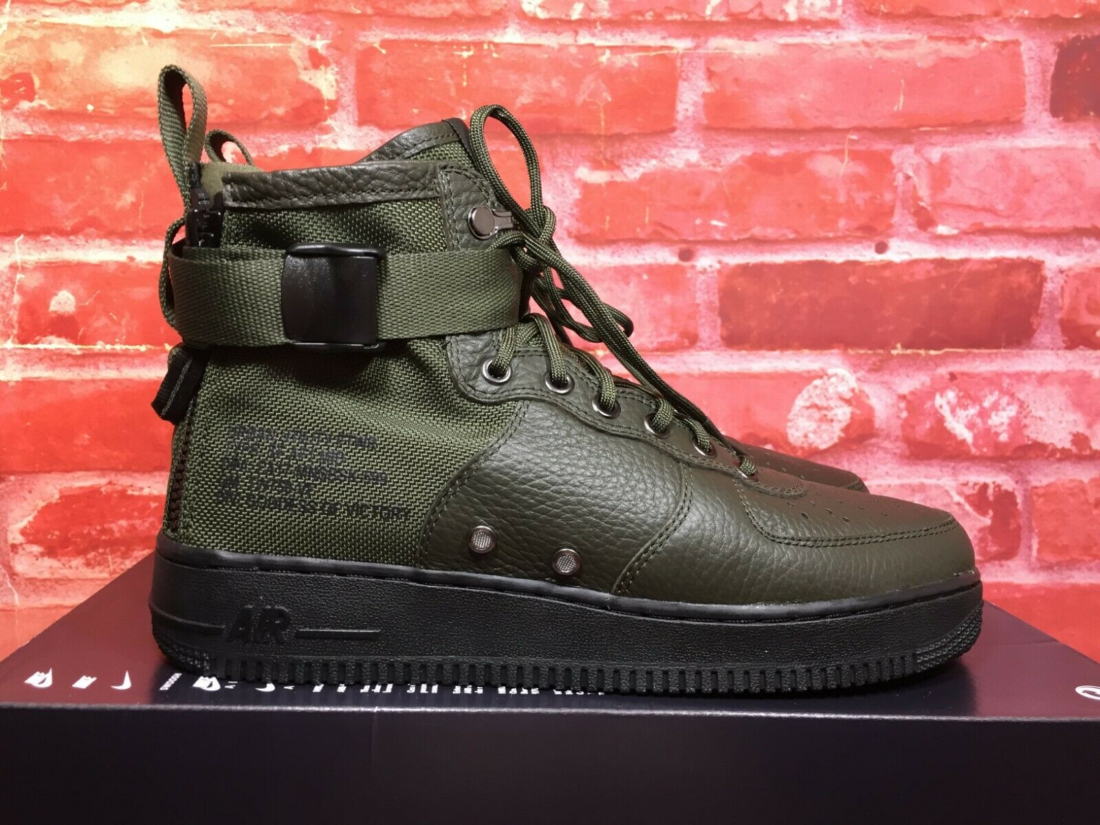 Nike Special Field Air Force 1 Mid Mars Stone 917753 100 Shoes