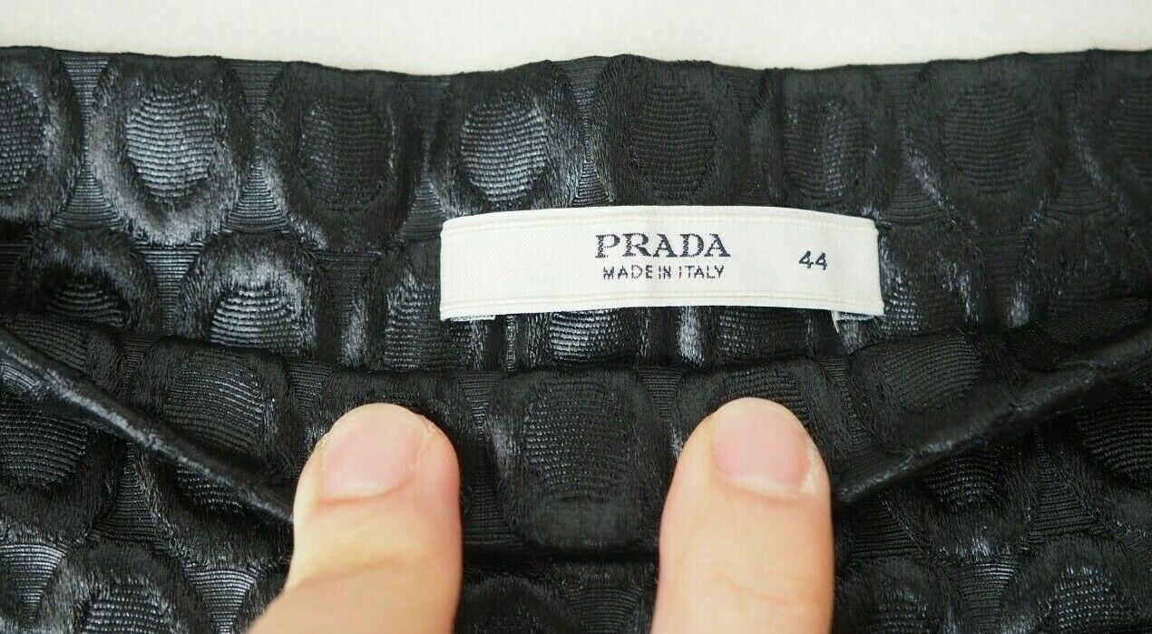 PRADA 1990's Vintage Pants Trousers Circular Desi… - image 6