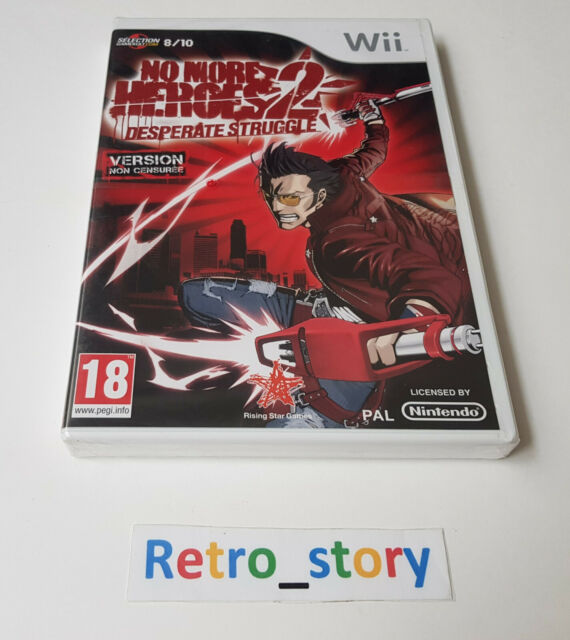 Nintendo Wii - No More Heroes 2 - NEUF / NEW - PAL - FRA