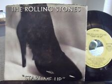 45@ THE ROLLING STONES START ME UP / NO USE IN CRYING W/ PICTURE SLEEVE